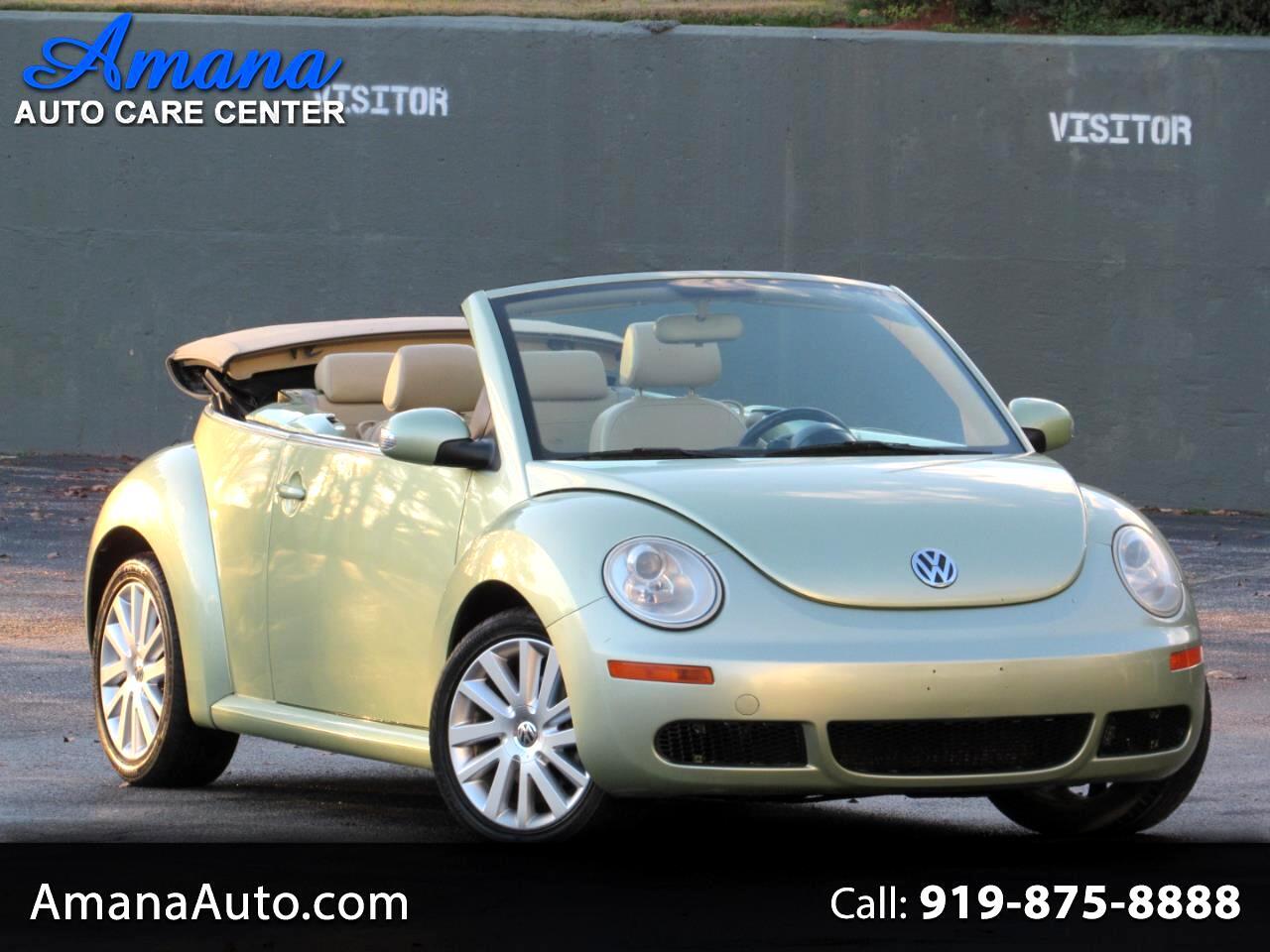 Volkswagen New Beetle Convertible 2dr Auto SE PZEV 2008