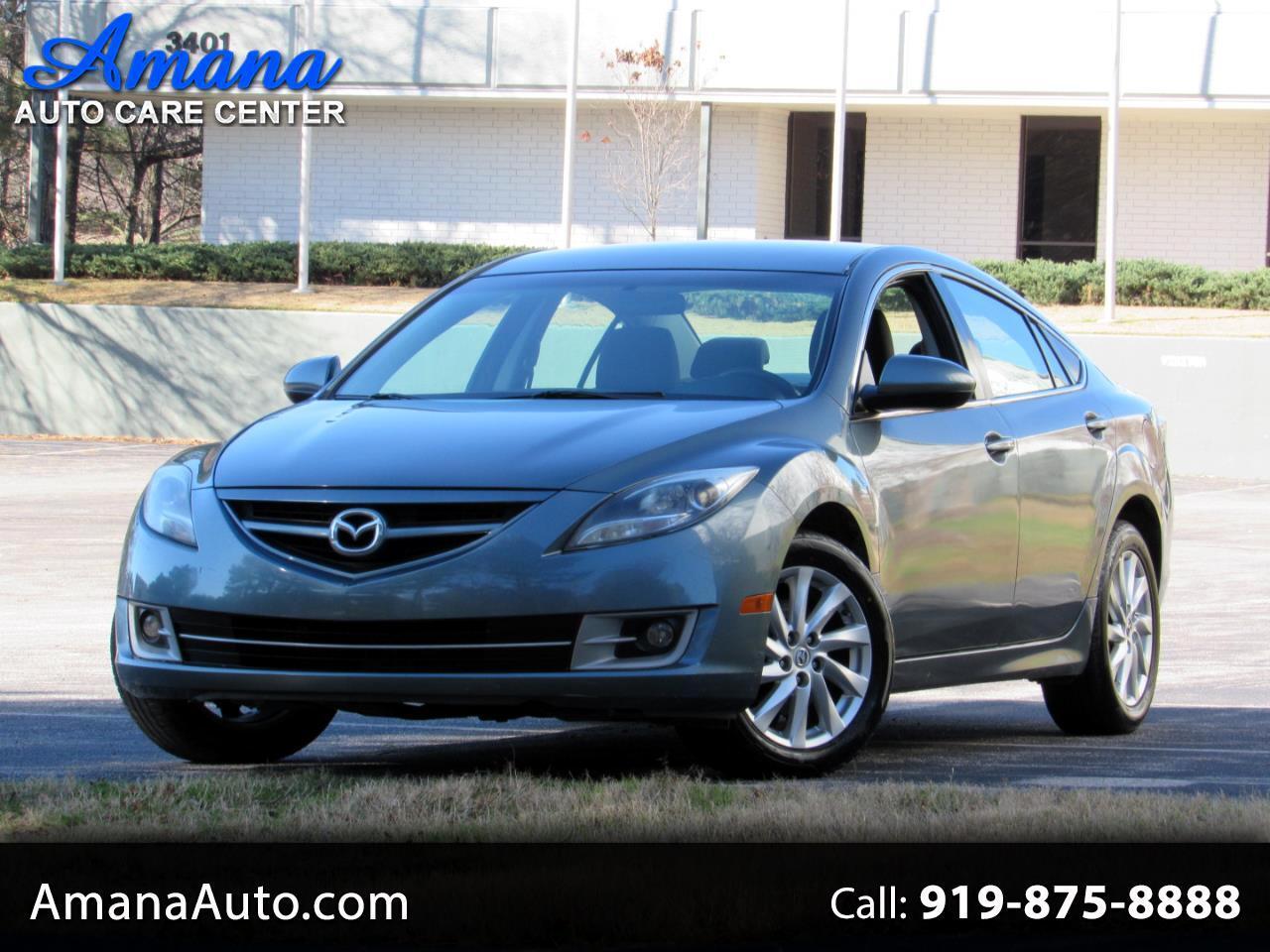 Mazda MAZDA6 4dr Sdn Auto i Touring 2012