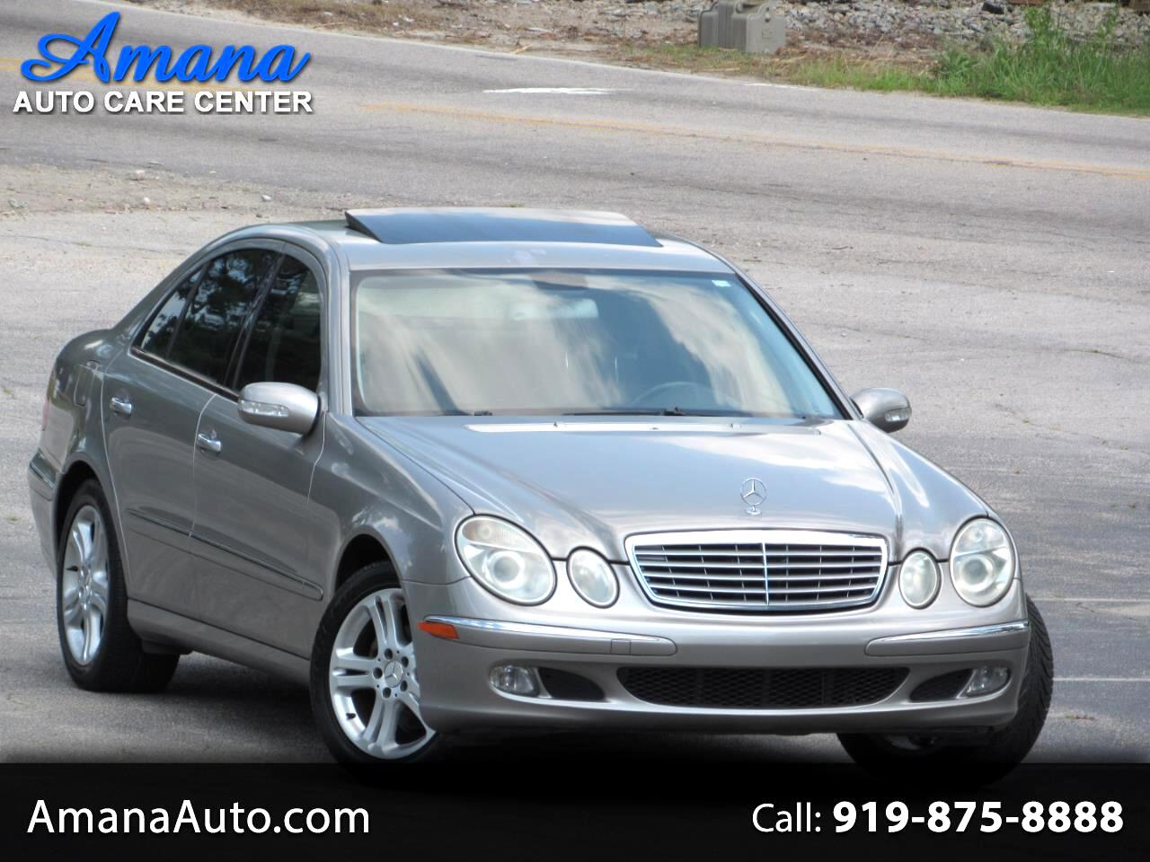 Mercedes-Benz E-Class 4dr Sdn 3.2L *Ltd Avail* 2005