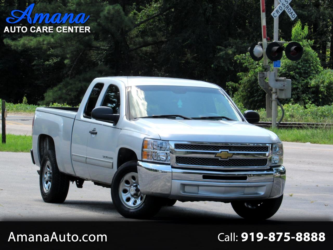 """Chevrolet Silverado 1500 2WD Ext Cab 143.5"""" LT 2012"""