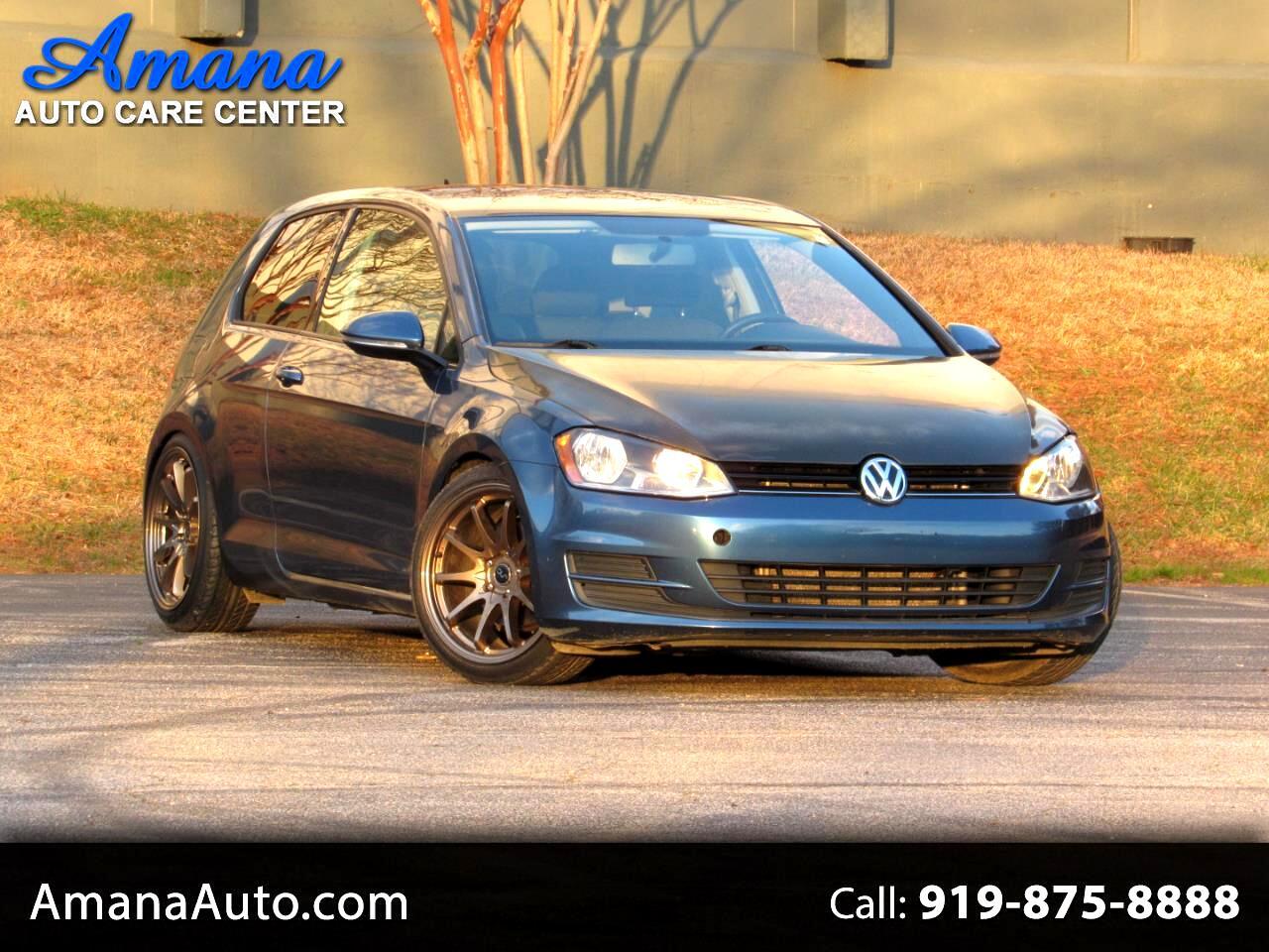 Volkswagen Golf 2dr HB Man Launch Edition *Ltd Avail* 2015
