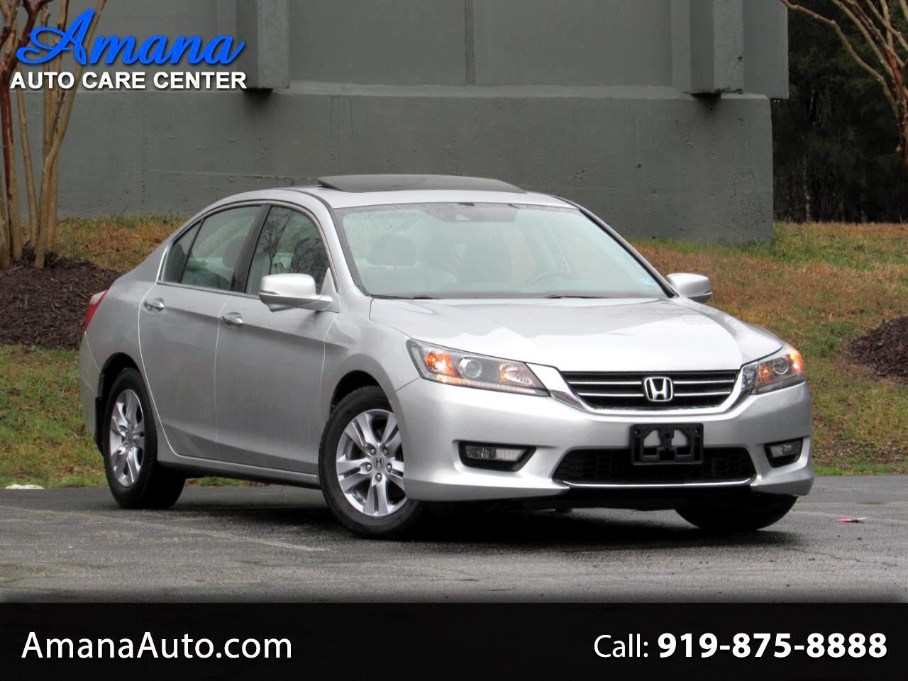Honda Accord Sedan 4dr I4 CVT EX-L 2014