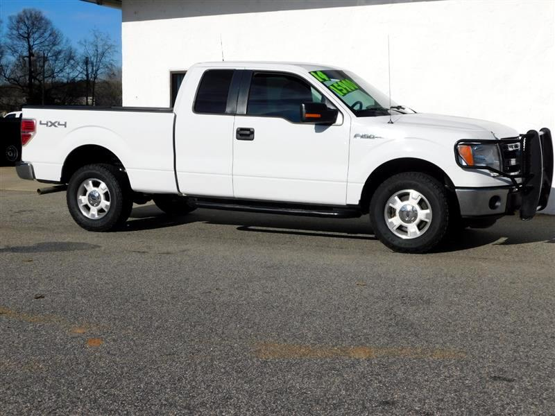 "Ford F-150 4WD SuperCab 133"" XLT 2014"