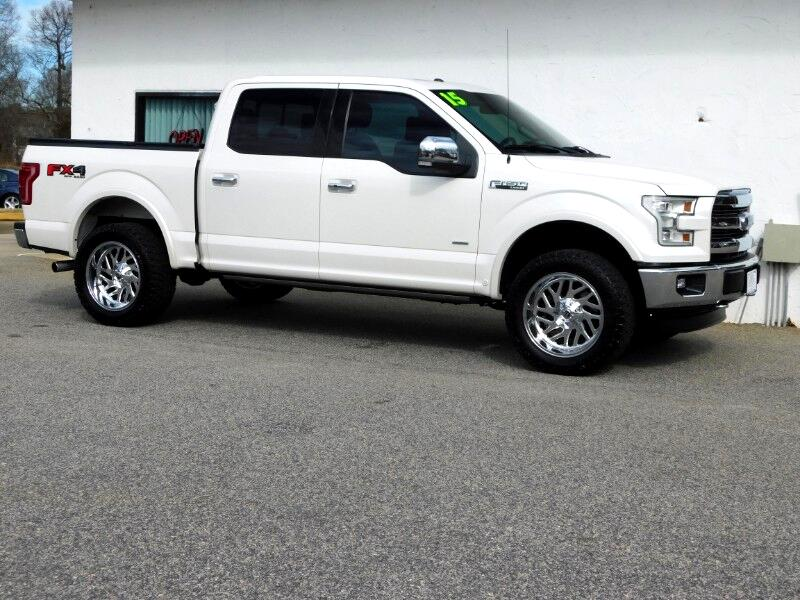 Ford F-150 Lariat SuperCrew 5.5-ft. Bed 4WD 2015
