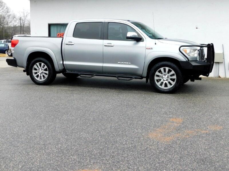 Toyota Tundra Limited 5.7L FFV CrewMax 4WD 2010