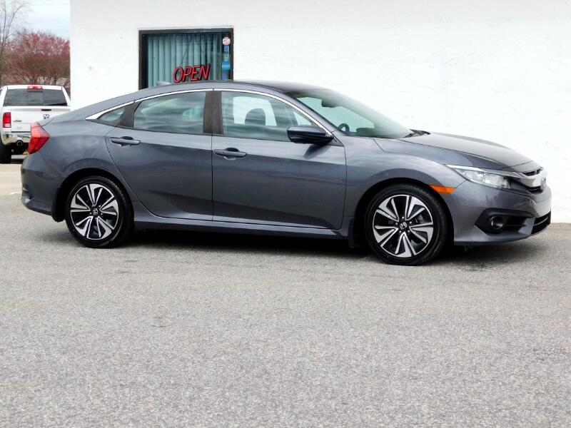 Honda Civic EX-L Sedan CVT 2017