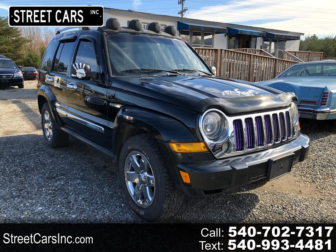 2006 Jeep Liberty 4dr Limited 4WD