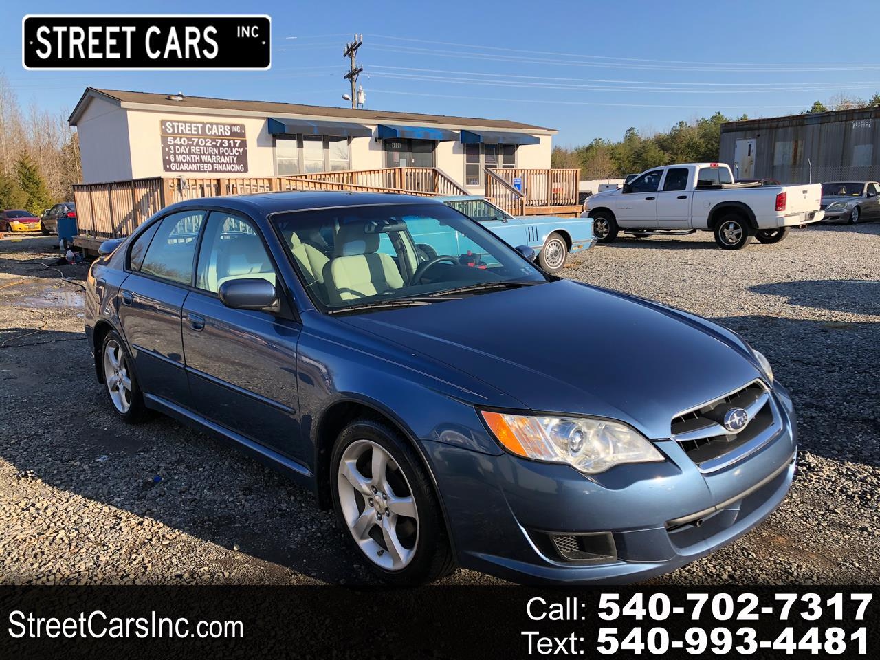 Subaru Legacy (Natl) 4dr H4 Auto Special Edition 2008