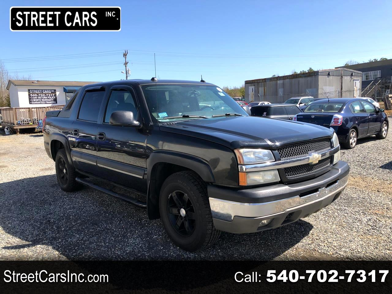 """Chevrolet Avalanche 1500 5dr Crew Cab 130"""" WB 4WD Z71 2004"""