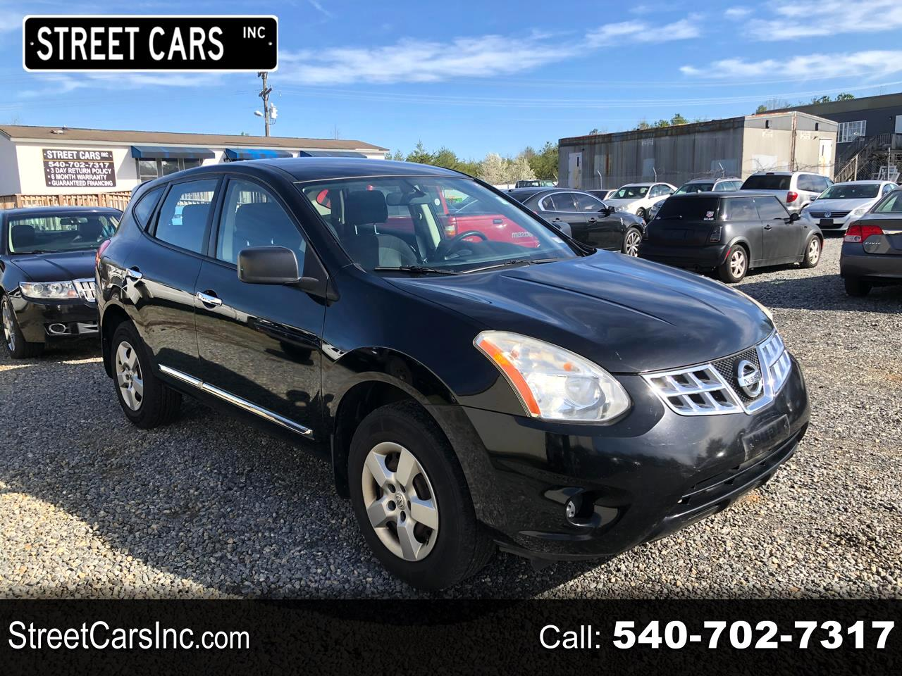 Nissan Rogue FWD 4dr S 2011