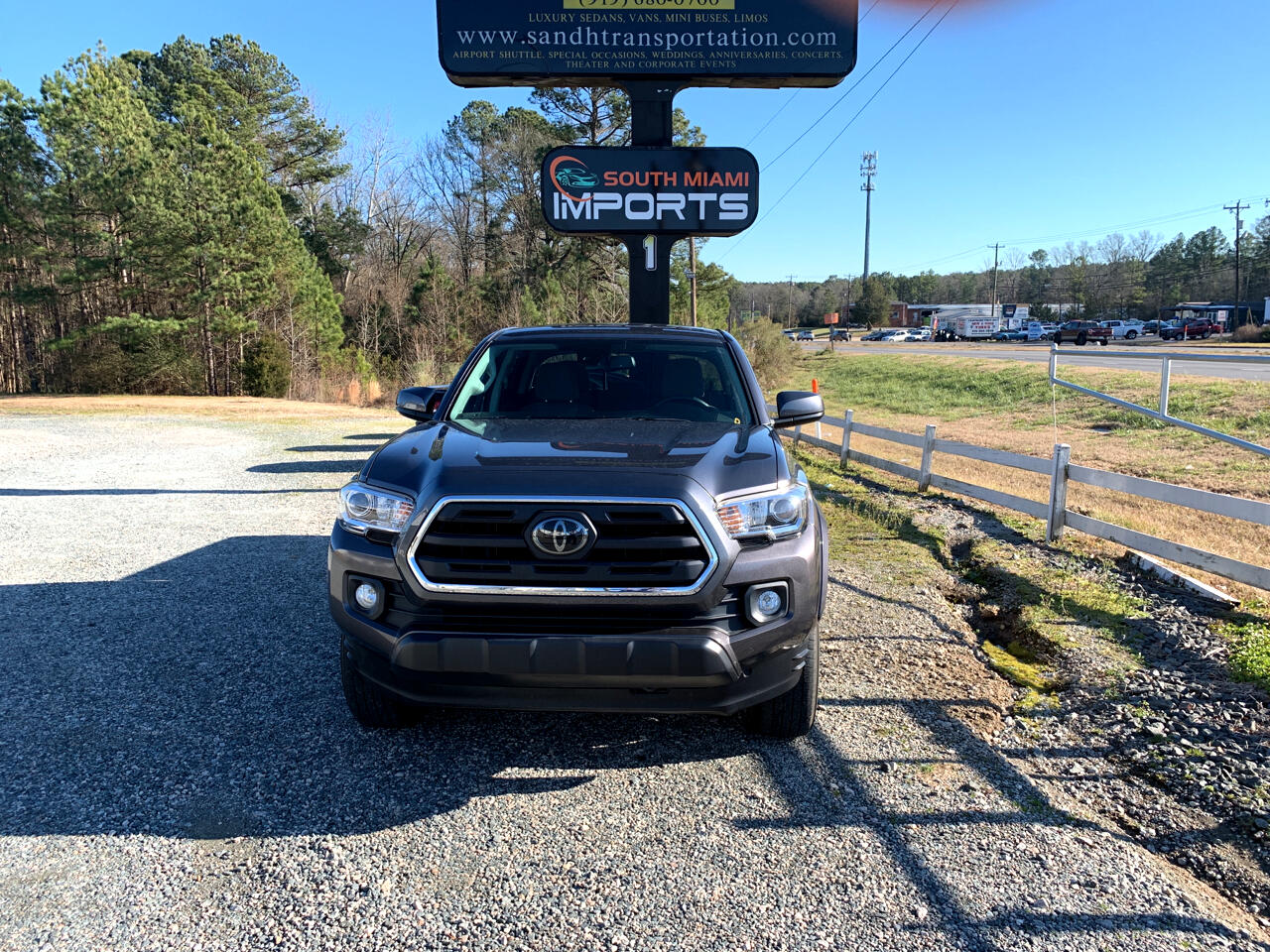 Toyota Tacoma SR5 Double Cab Long Bed V6 5AT 2WD 2018
