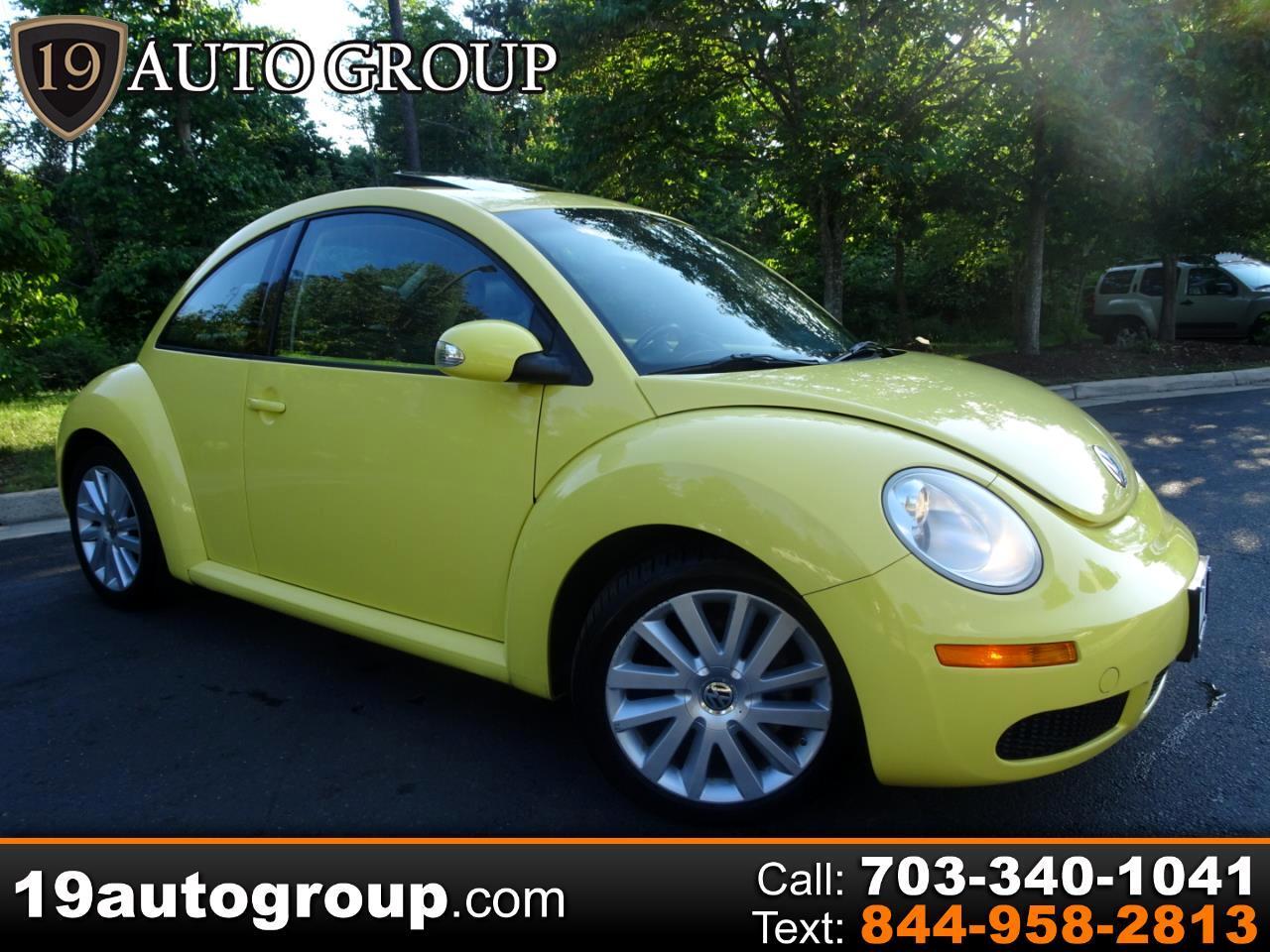 Volkswagen New Beetle SE PZEV 2008