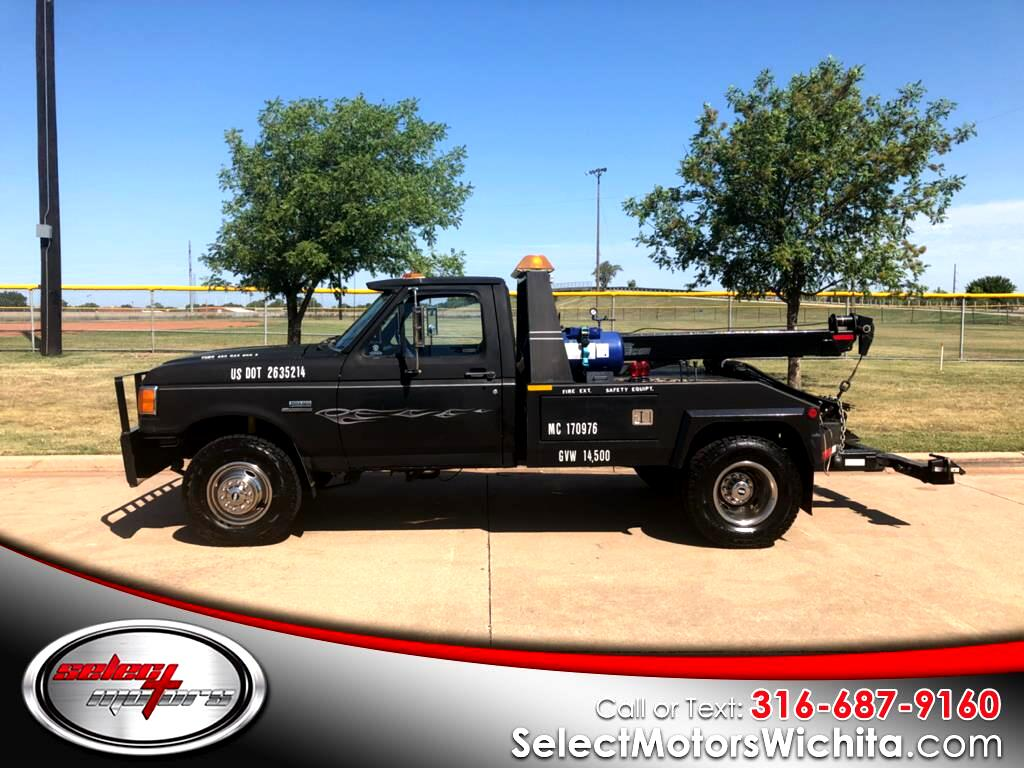 1990 Ford F-350 Chassis Cab Tow Truck