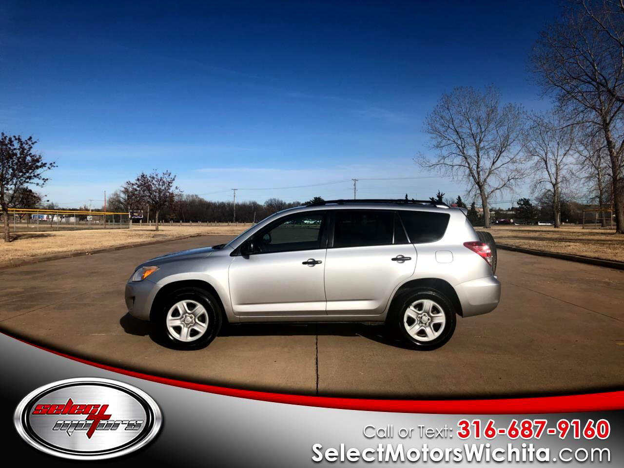 2011 Toyota RAV4 4WD 4dr 4-cyl 4-Spd AT (Natl)