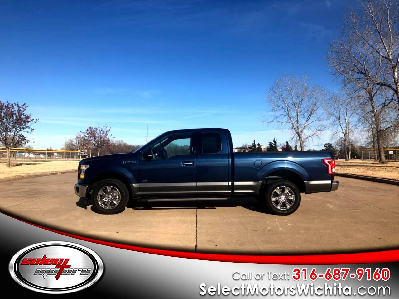 "2015 Ford F-150 4WD SuperCab 145"" XLT"