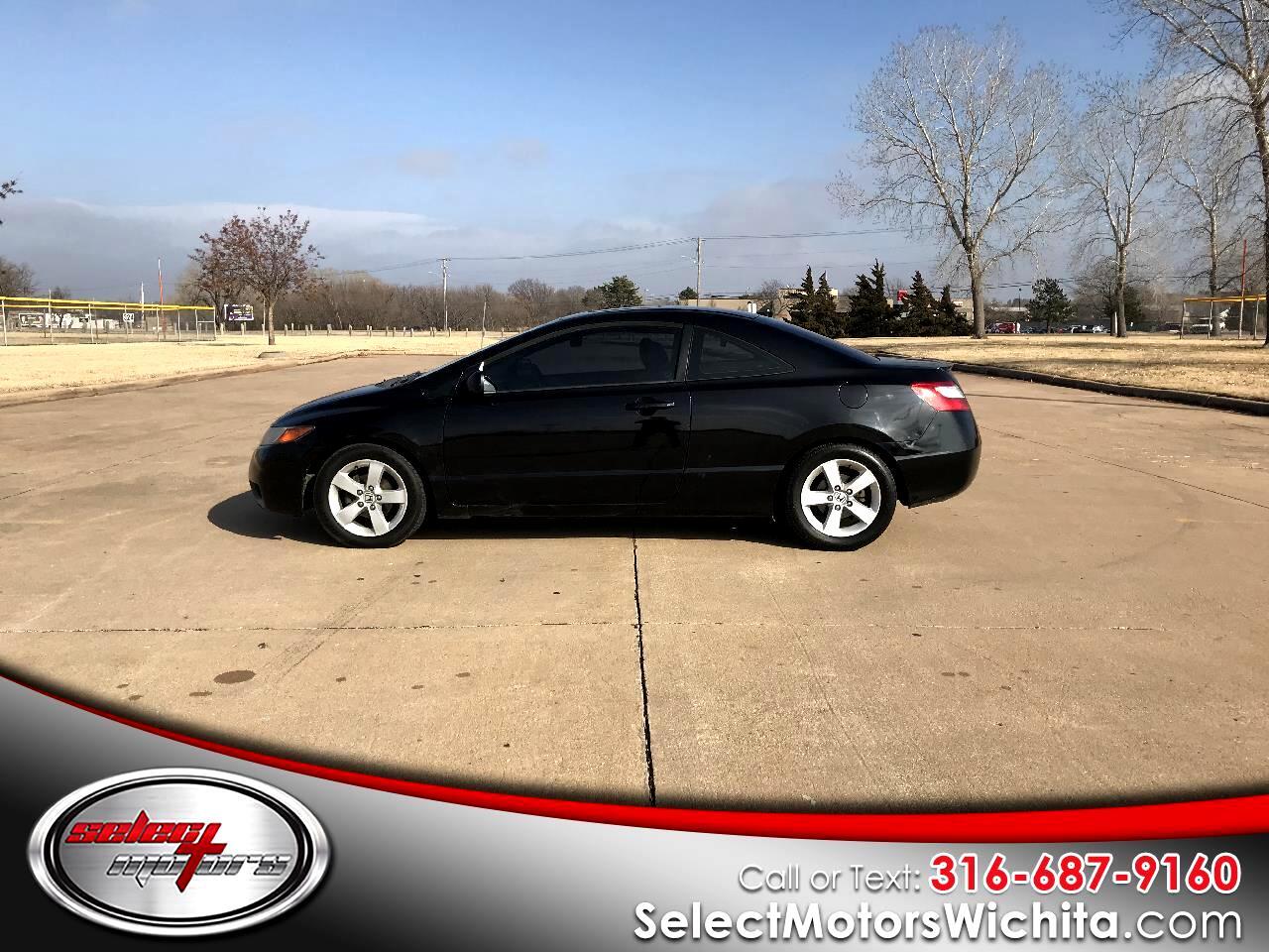 2007 Honda Civic Cpe 2dr MT EX