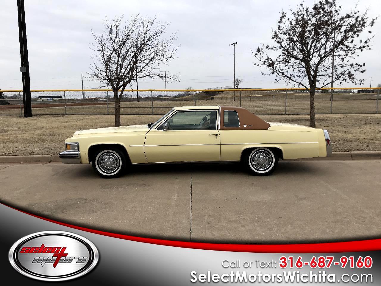 1978 Cadillac Coupe De Ville