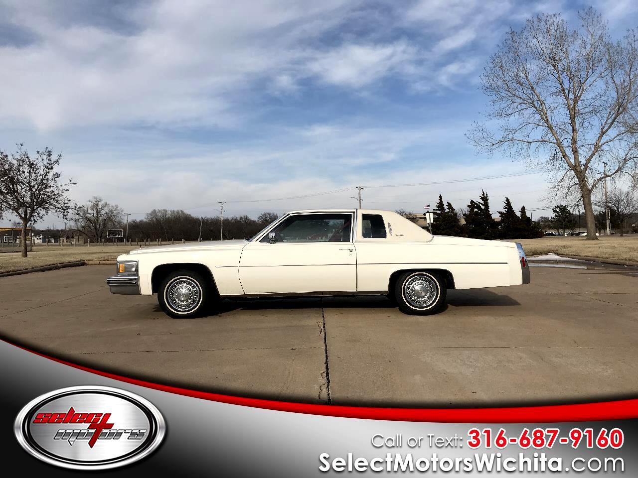 1979 Cadillac Coupe De Ville