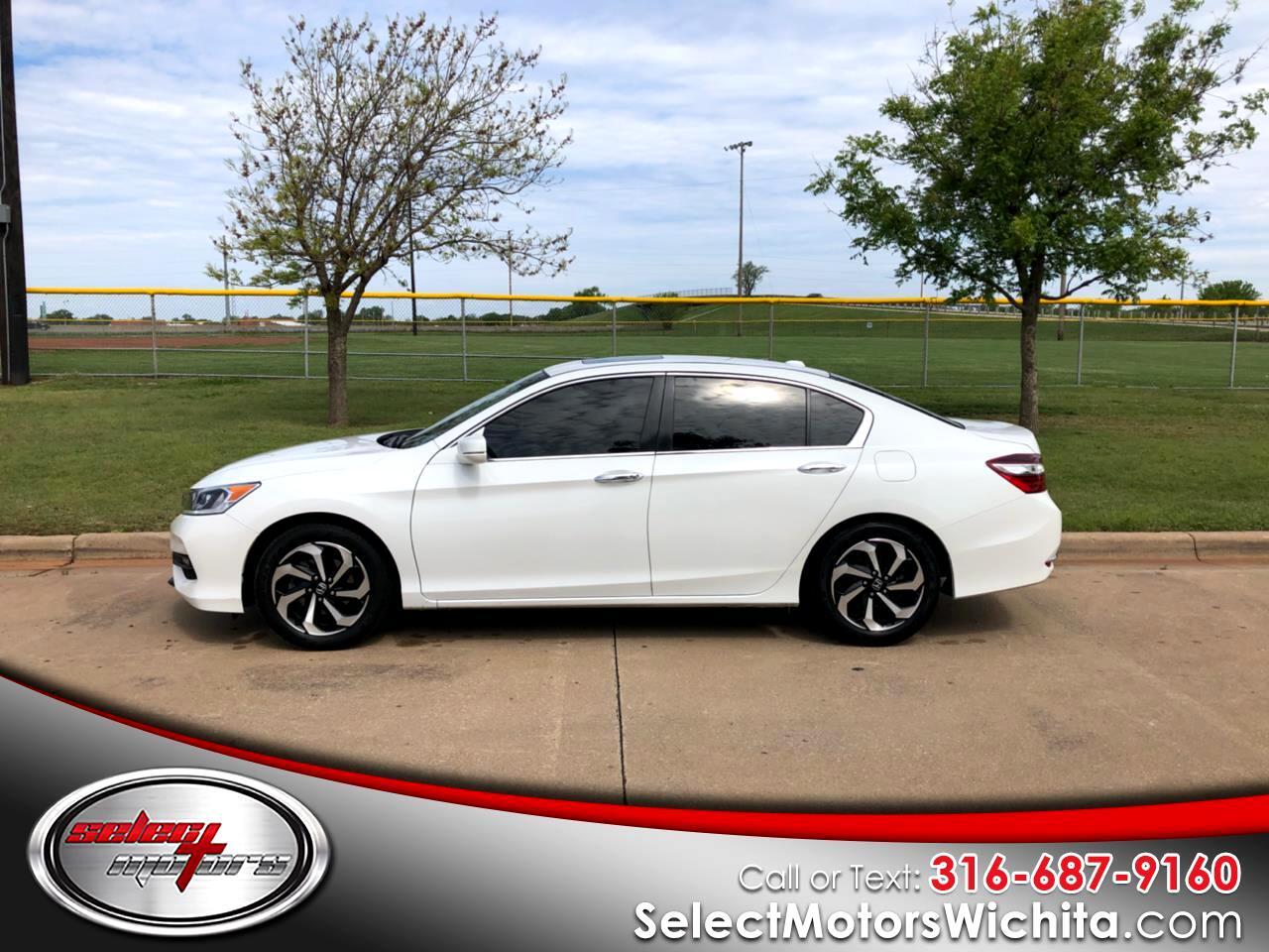 2016 Honda Accord Sedan 4dr I4 CVT EX-L