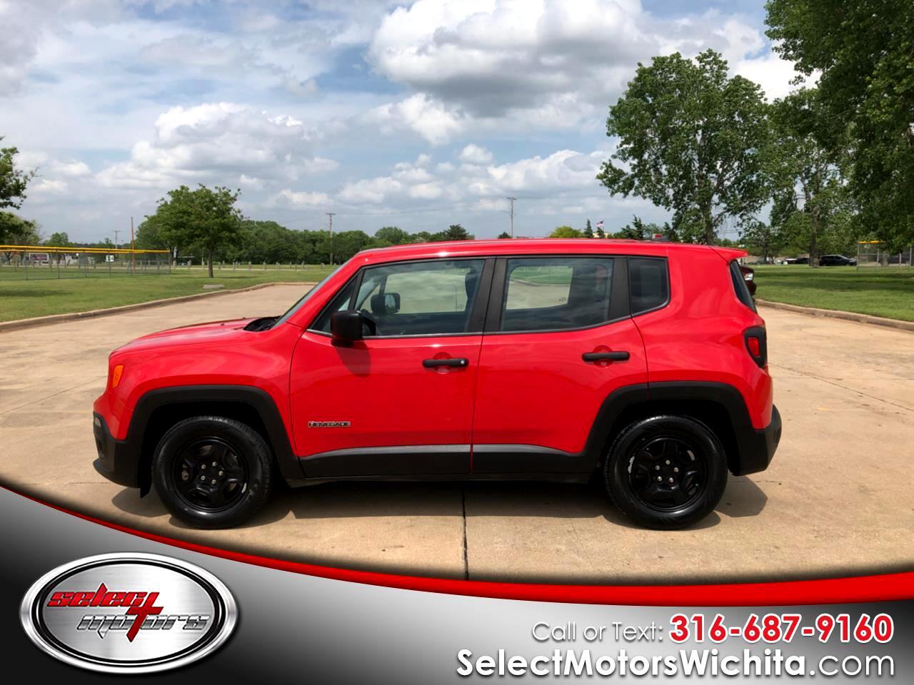 2017 Jeep Renegade Sport FWD *Ltd Avail*