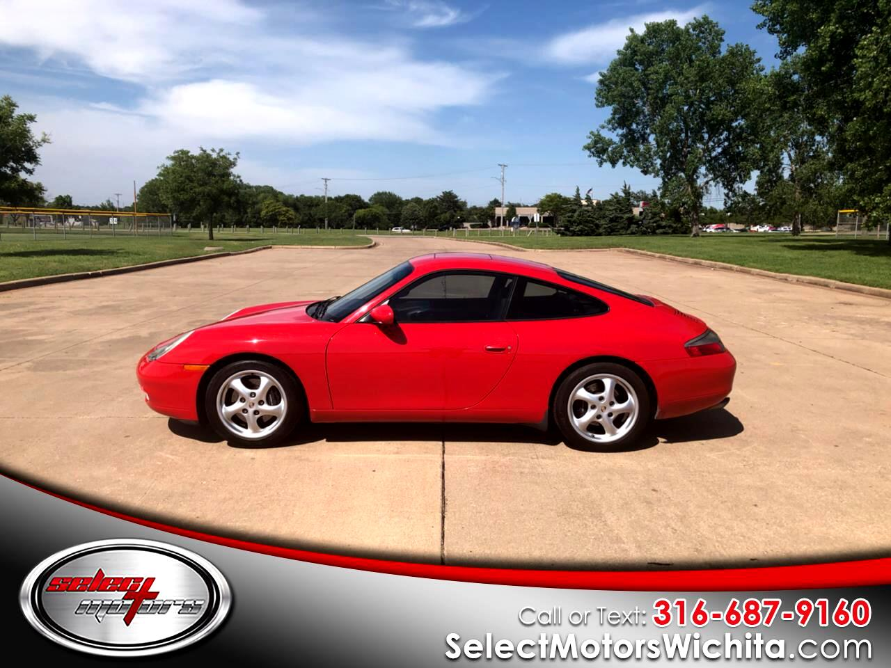 2001 Porsche 911 Carrera 2dr Carrera Cpe 6-Spd Manual