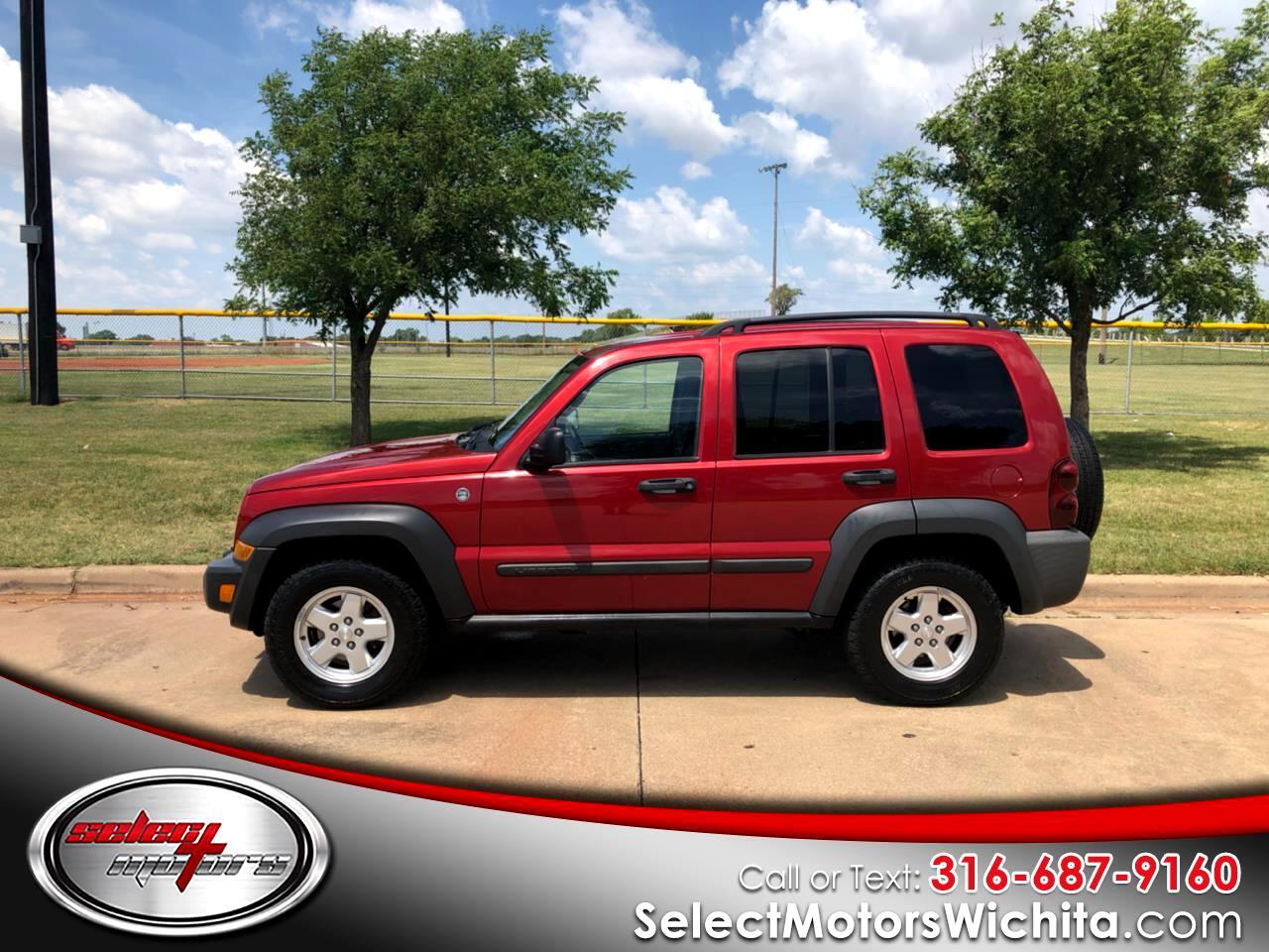 2006 Jeep Liberty 4dr Sport 4WD