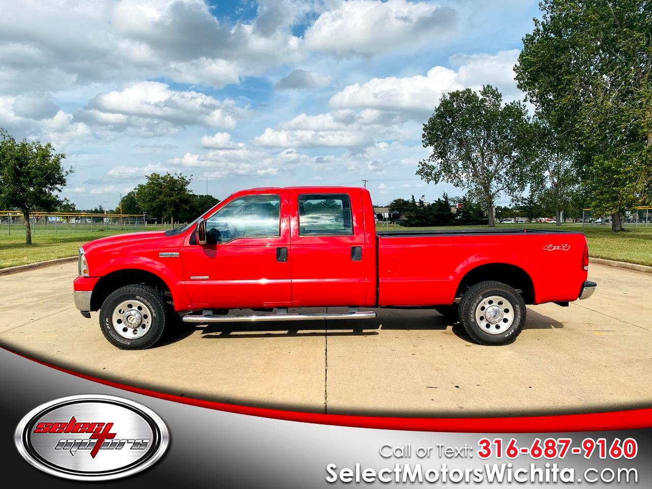 "2007 Ford Super Duty F-250 4WD Crew Cab 156"" XLT"