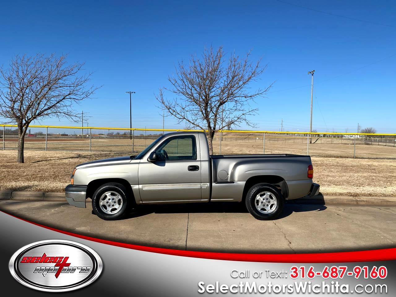 """Chevrolet Silverado 1500 Reg Cab 119.0"""" WB LS 2003"""