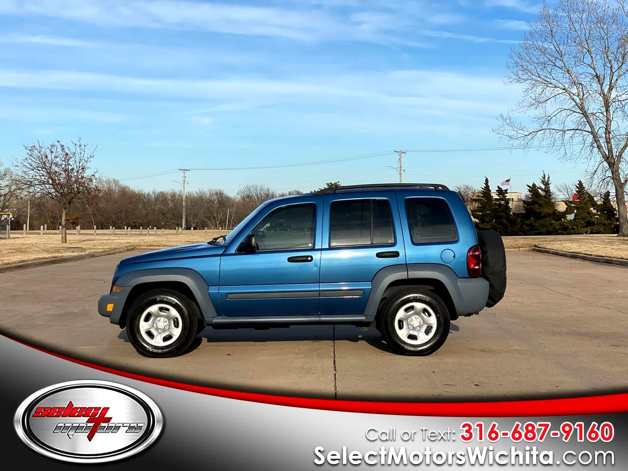 Jeep Liberty 4dr Sport 2006