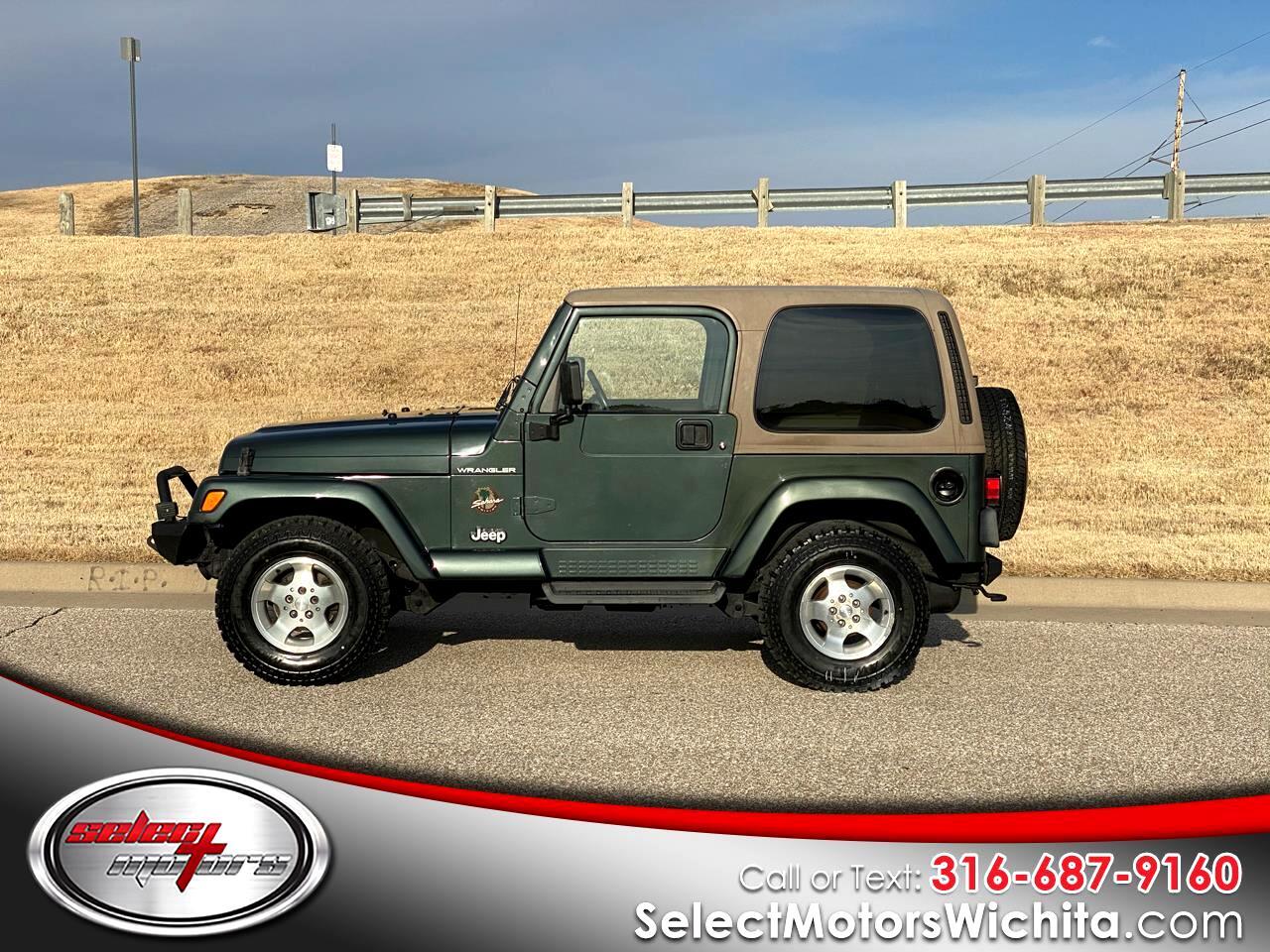 Jeep Wrangler 2dr Sahara 2002