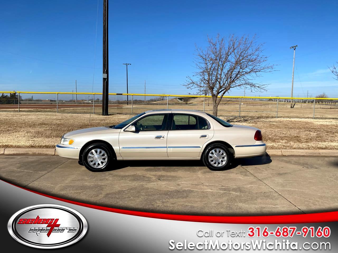 Lincoln Continental 4dr Sdn 2001