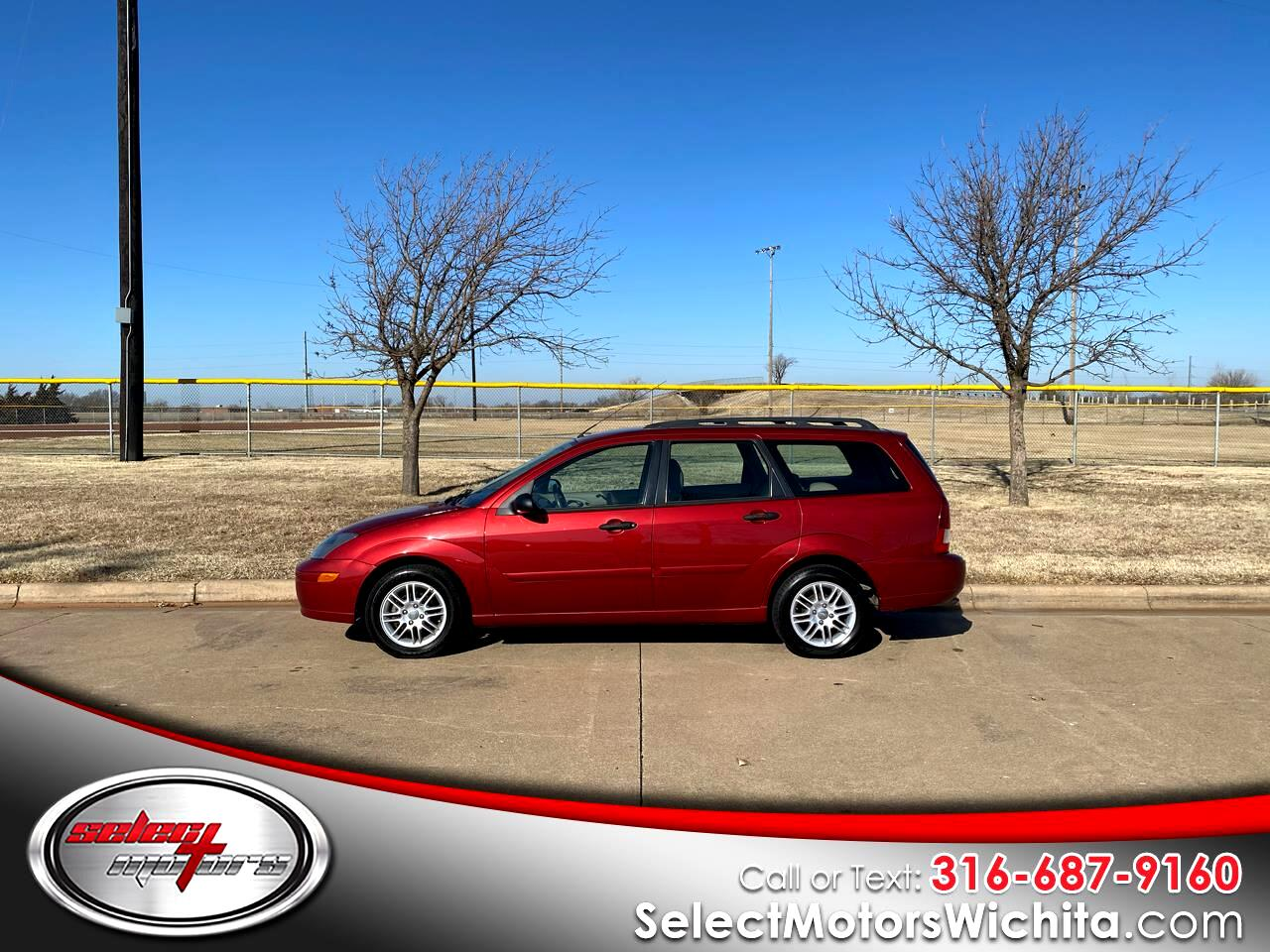 Ford Focus 4dr Wgn ZTW 2004
