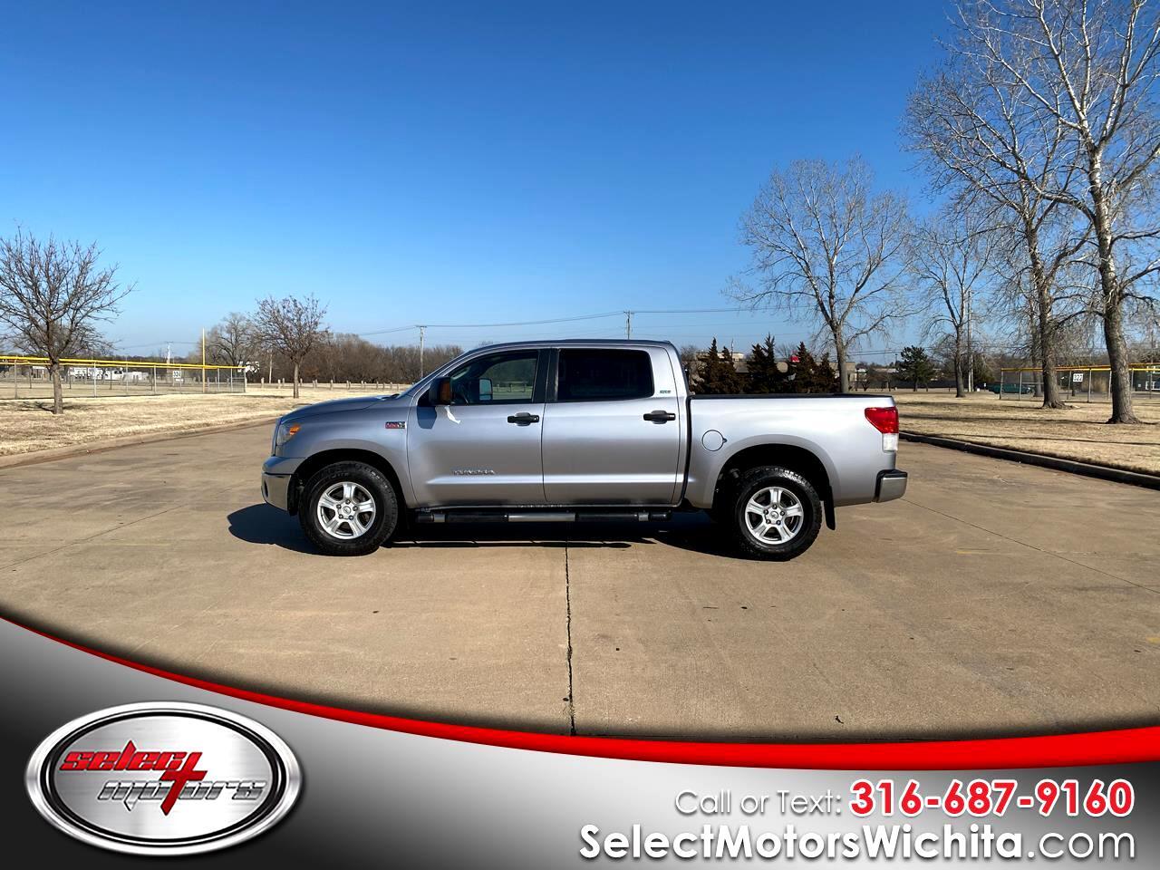 Toyota Tundra 4WD Truck CrewMax 5.7L FFV V8 6-Spd AT (Natl) 2010