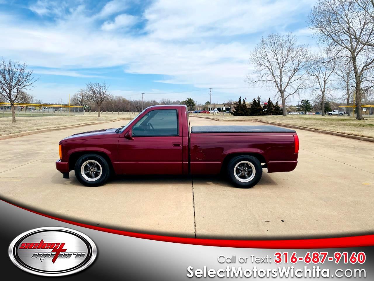 """GMC 1/2 Ton Pickups Fleetside 117.5"""" WB 1989"""