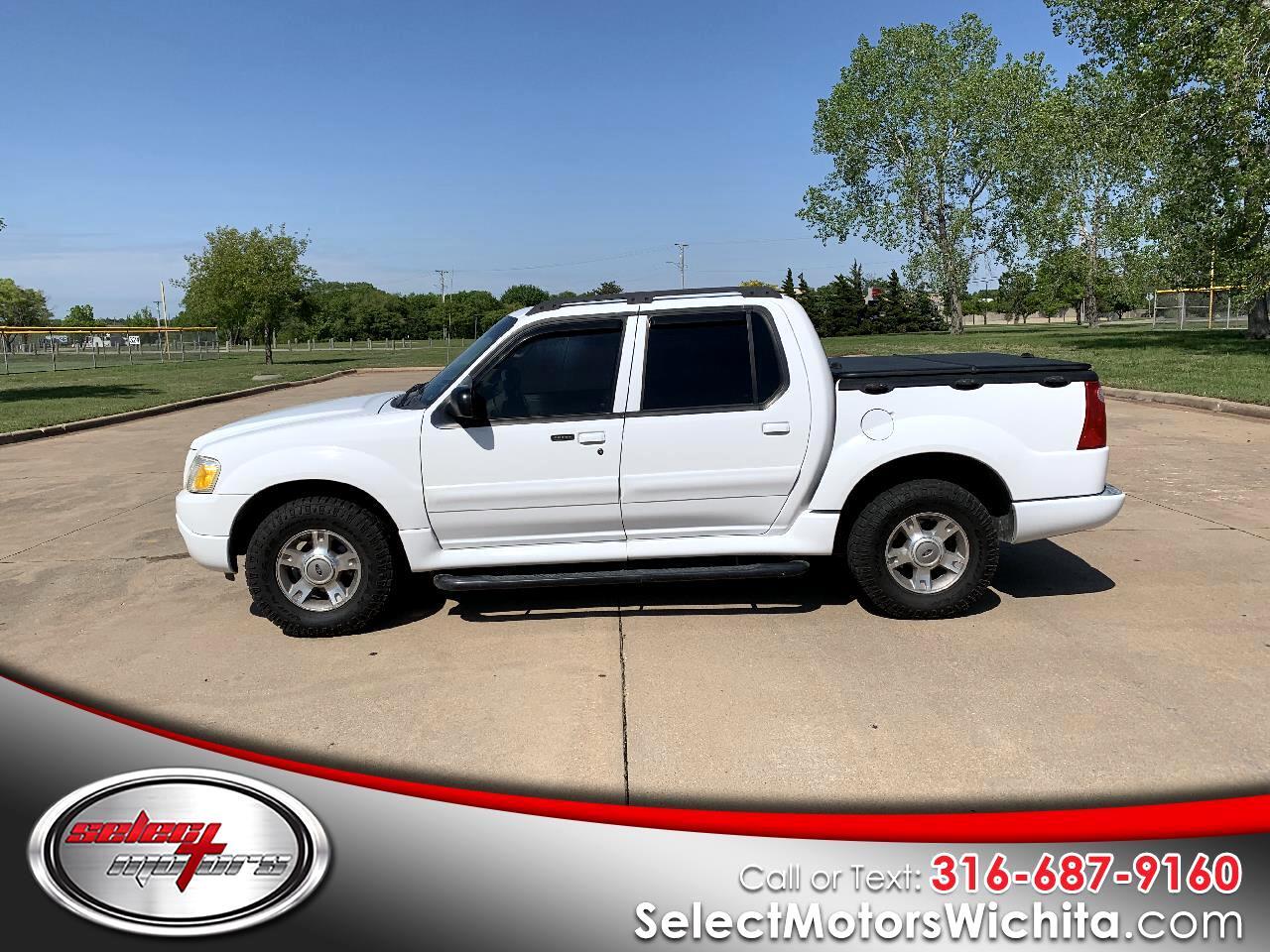 "Ford Explorer Sport Trac 4dr 126"" WB 4WD XLT Premium 2004"