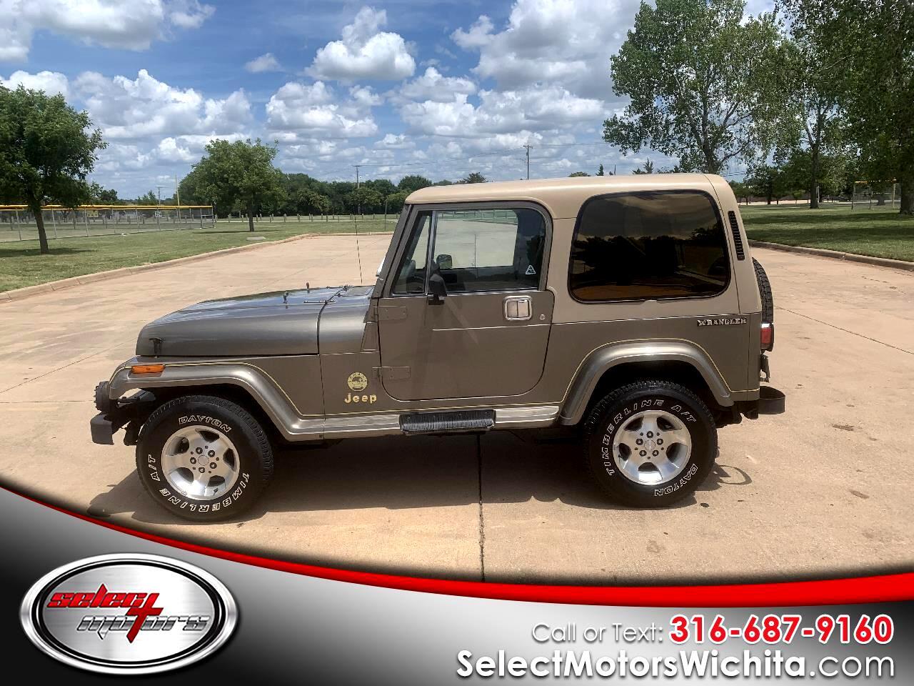 Jeep Wrangler 2dr Sahara 1990