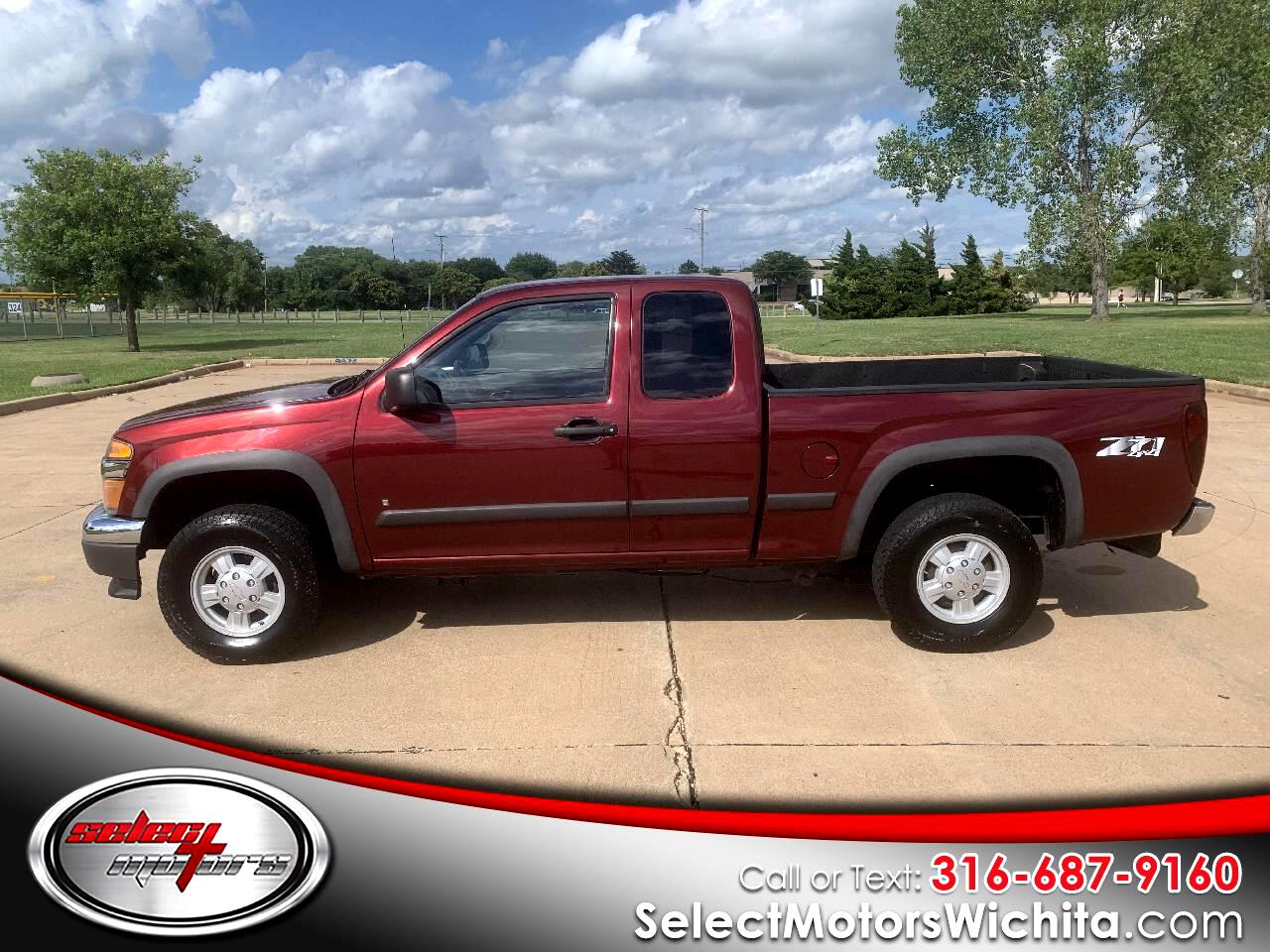 "Chevrolet Colorado 4WD Ext Cab 125.9"" LT w/1LT 2007"