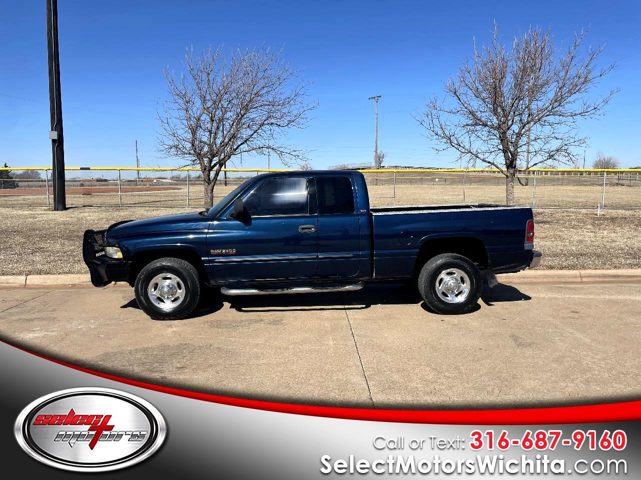 "Dodge Ram 2500 4dr Quad Cab 139"" WB HD 2002"