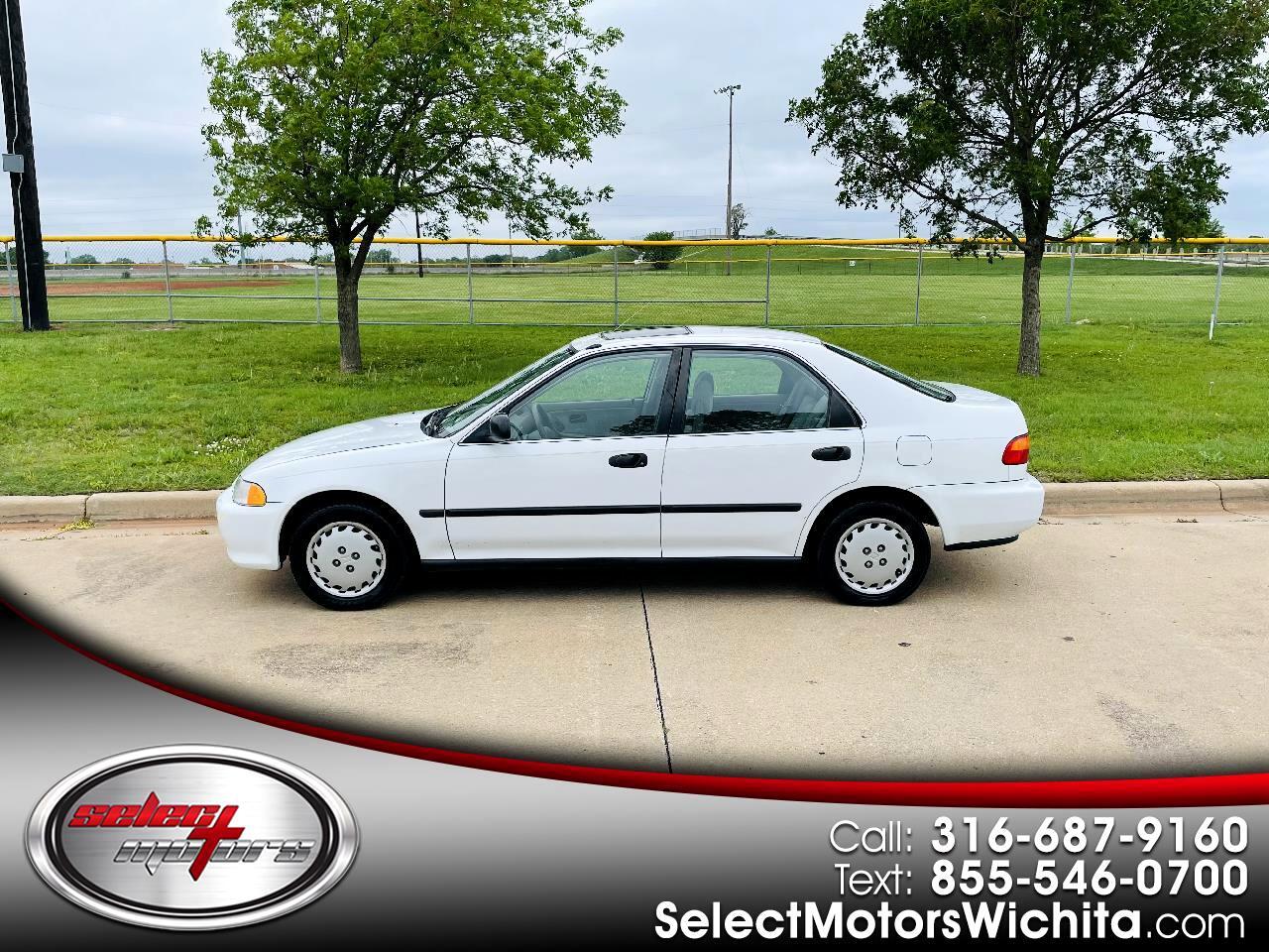 Honda Civic 4dr Sedan LX Auto 1.5L 1995