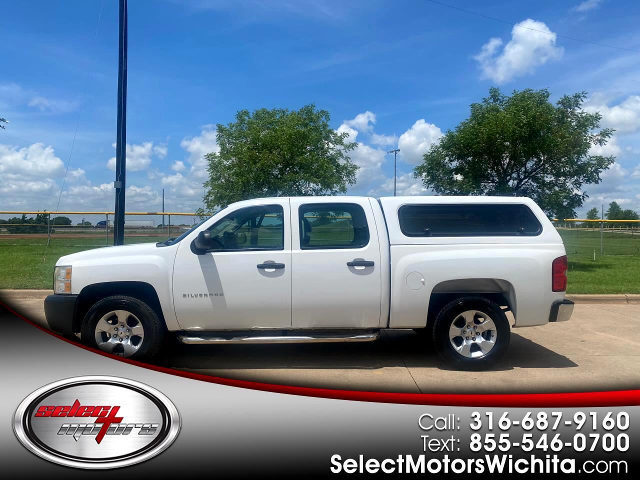"Chevrolet Silverado 1500 2WD Crew Cab 143.5"" Work Truck 2011"