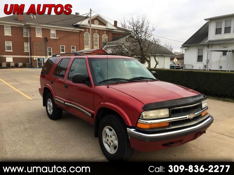 2000 Chevrolet Blazer 2-Door 4WD LS
