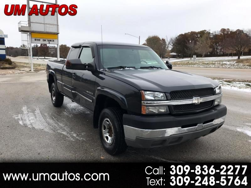 Chevrolet Silverado 2500HD LS Ext. Cab Long Bed 2WD 2003