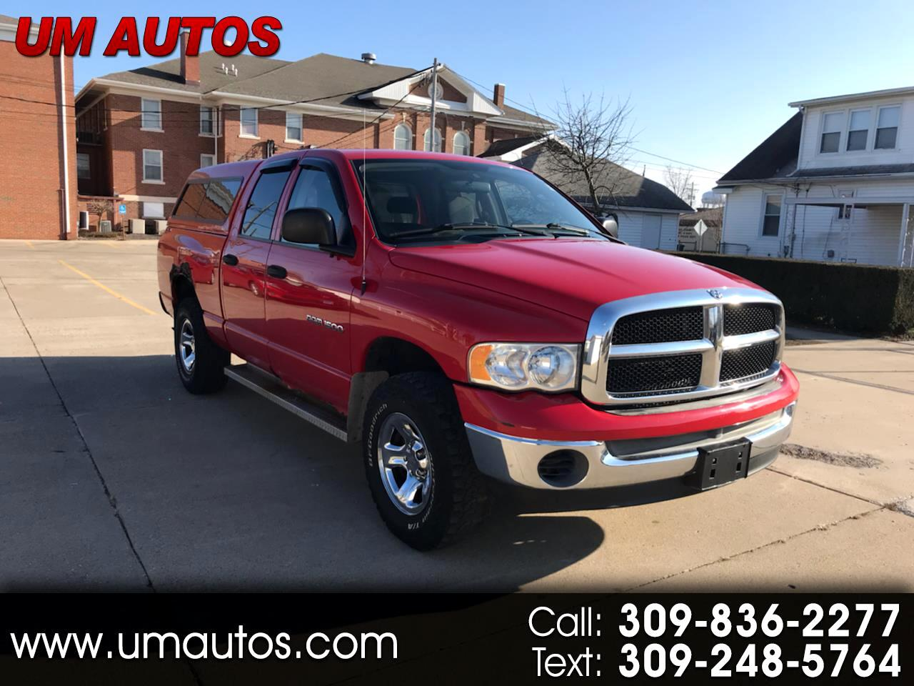 Dodge Ram 1500 SLT Quad Cab Short Bed 4WD 2005