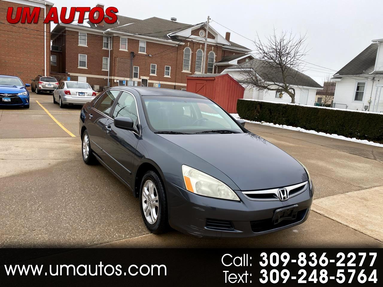 Honda Accord LX SE Sedan AT 2007