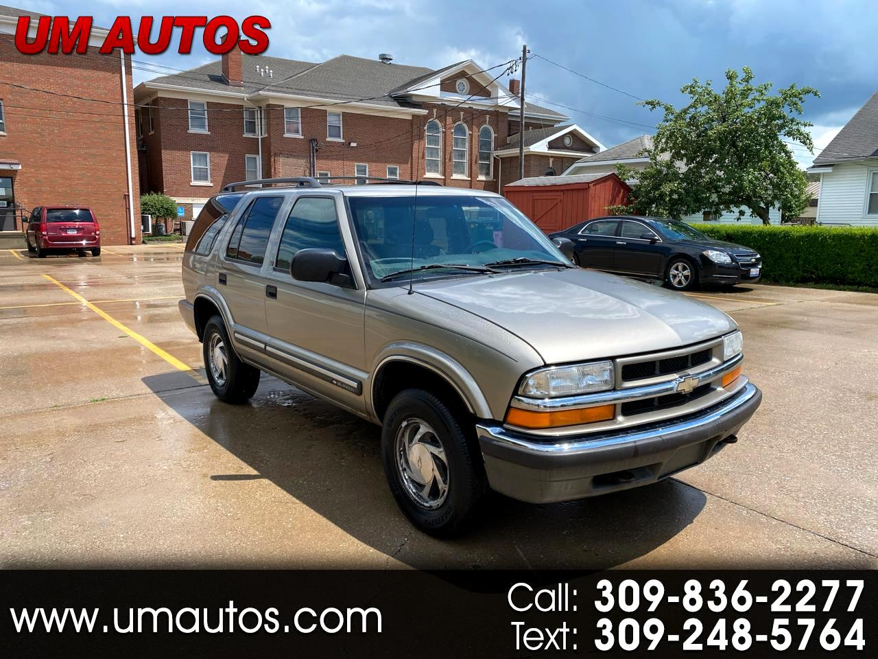 Chevrolet Blazer LT 4-Door 4WD 2001
