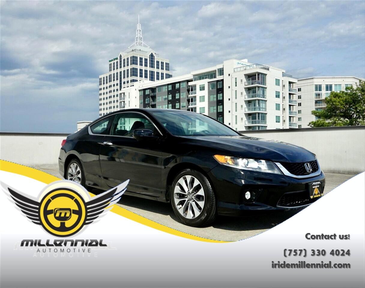 Honda Accord Coupe 2dr I4 CVT EX-L 2015