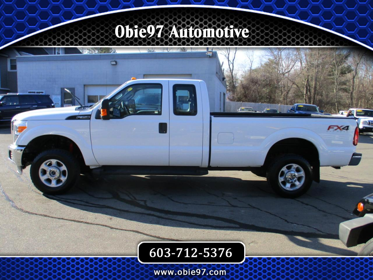 Ford Super Duty F-350 SRW XLT 4WD SuperCab 8' Box 2016