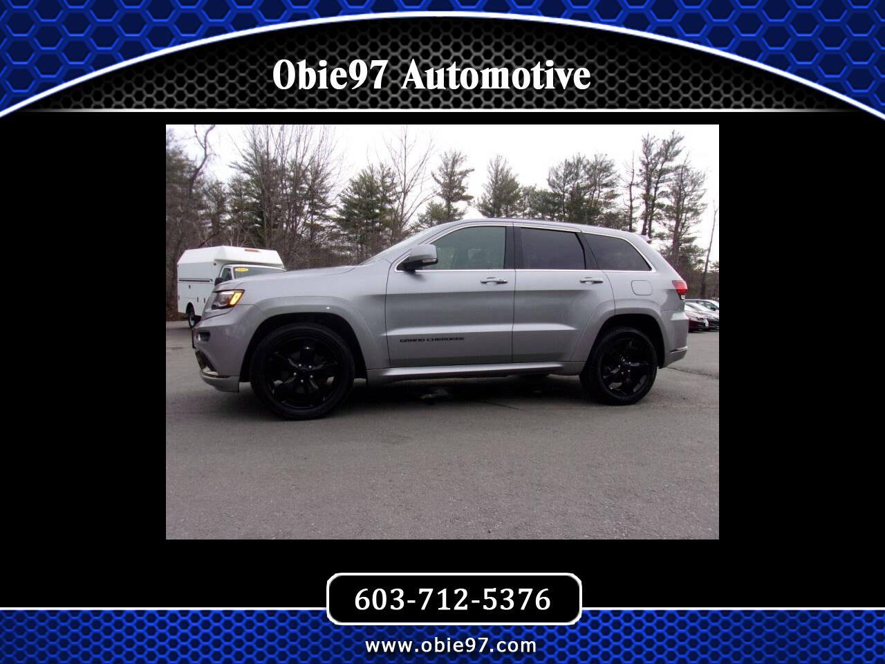 Jeep Grand Cherokee High Altitude 4x4 2016