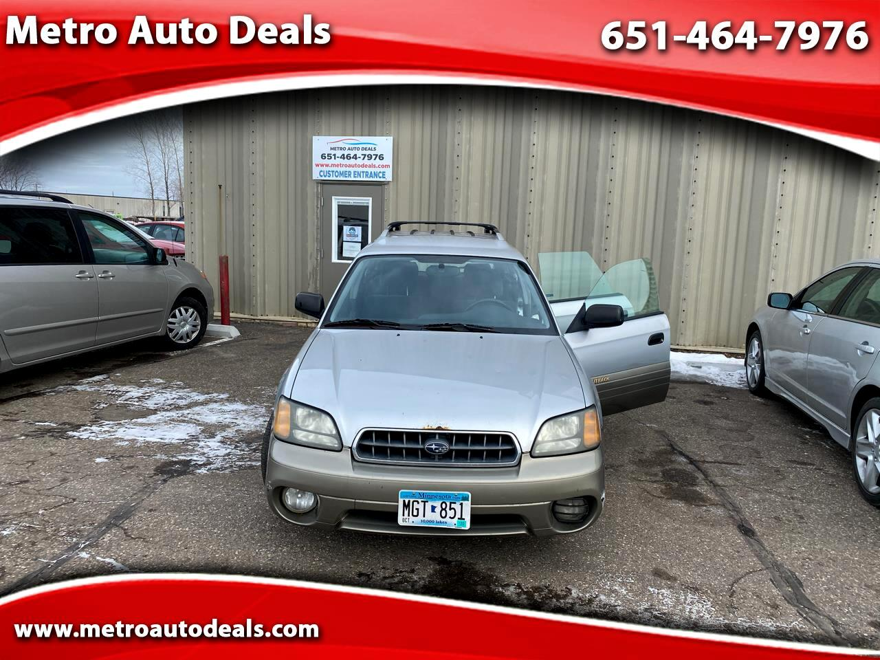 Subaru Outback Wagon w/ All-weather Package 2003