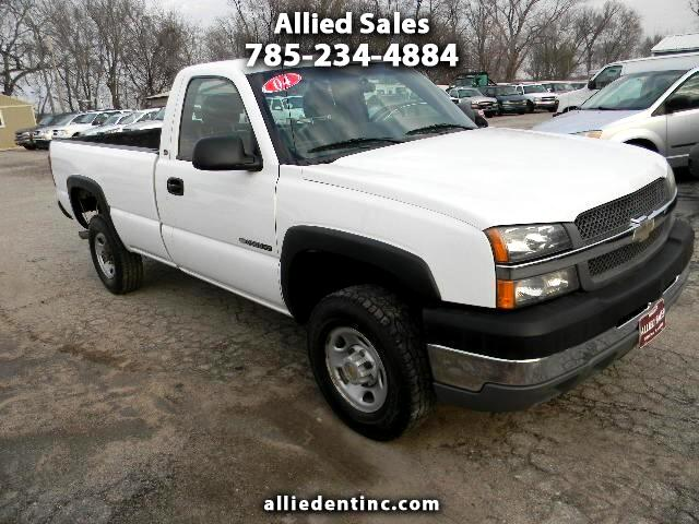 2004 Chevrolet Silverado 2500HD Long Bed 2WD